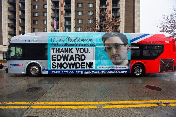 에드워드 스노든 버스