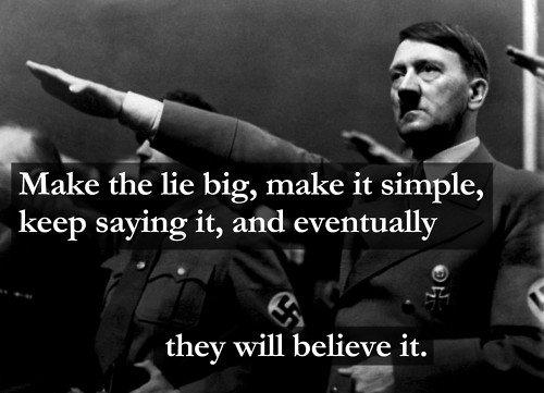 크게 거짓말을 하라