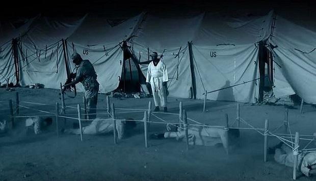 미군 텐트