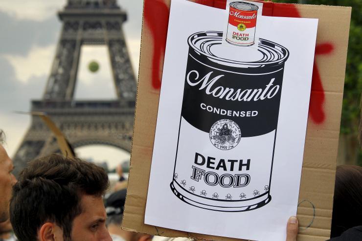 프랑스 몬산토 시위