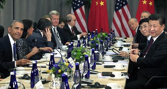 오바마와 시진핑