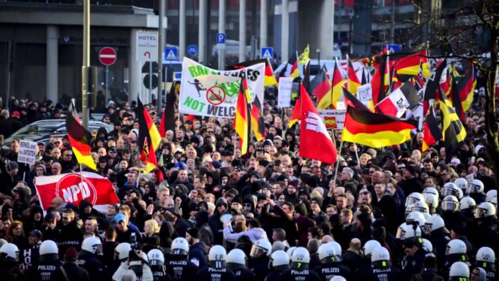 반난민시위독일